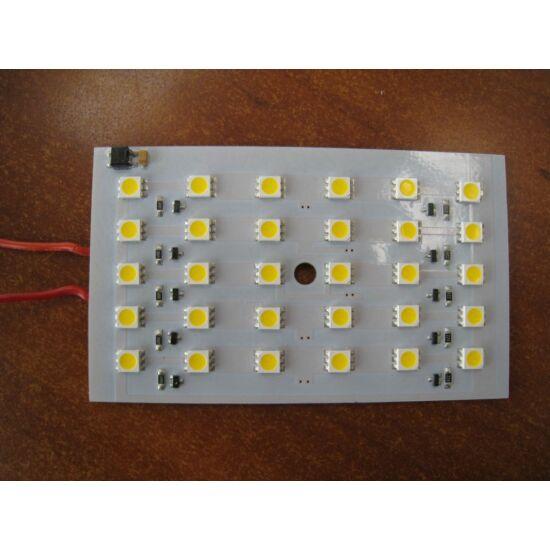 modul LED  30 SMD5050 LED, alb cald
