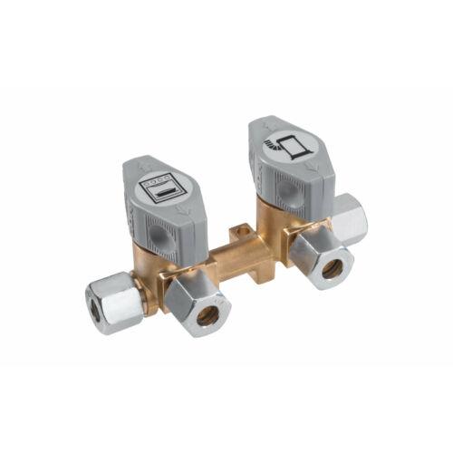 Bloc valve-robinete