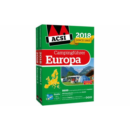 Catalog camping ACSI Europa 2018 +card
