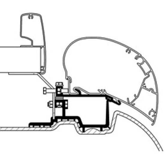 Adaptor set pentru Ducato / Jumper / Boxer de la 08/2006